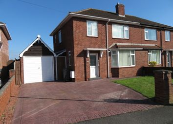 Thumbnail 3 bedroom semi-detached house to rent in Quarry Road, Tupsley, Hereford