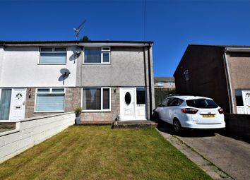 Thumbnail 2 bed semi-detached house for sale in Heol Seward, Beddau