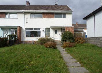 Thumbnail 3 bed semi-detached house for sale in Heol-Y-Frenhines, Bridgend, Bridgend.