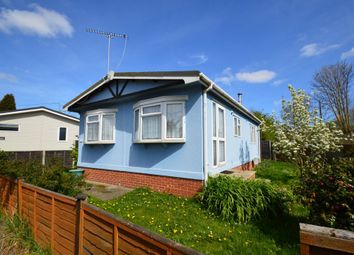 Thumbnail 2 bed mobile/park home for sale in Bourne Park Residential Park, Ipswich