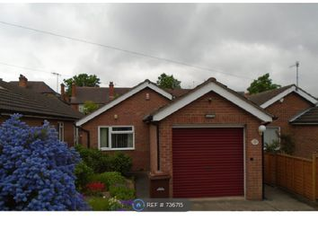 Thumbnail 2 bed bungalow to rent in Aubrey Road, Nottingham