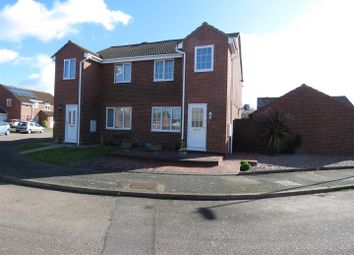 Thumbnail 3 bed semi-detached house for sale in Jenkins Close, Eaton Socon, St. Neots