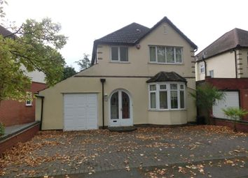 Thumbnail 3 bed detached house for sale in Smirrells Road, Hall Green, Birmingham