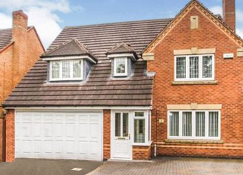 Thumbnail 4 bed detached house for sale in Cygnet Drive, Walsall