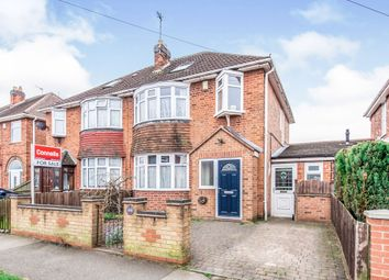 Thumbnail 4 bed semi-detached house for sale in Avon Road, Braunstone Town, Leicester