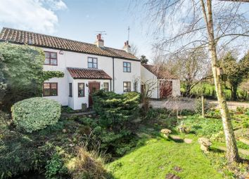 Thumbnail 3 bed cottage for sale in Council Houses, Lowthorpe, Driffield