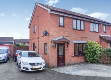 Thumbnail 3 bed semi-detached house for sale in White Bark Close, Cannock