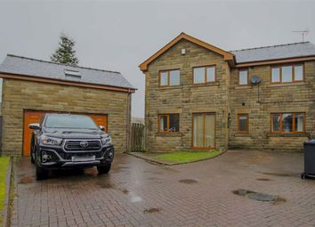 Thumbnail 4 bed link-detached house for sale in Higher Booths Close, Crawshawbooth, Lancashire