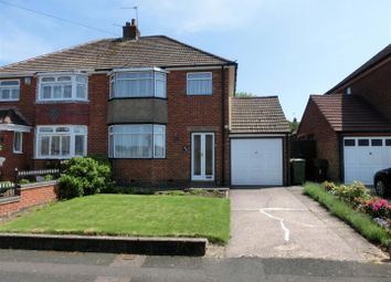 Thumbnail 3 bed semi-detached house for sale in Heath Road, Hollywood, Birmingham