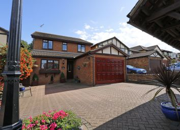 Thumbnail 4 bed detached house for sale in Alfreda Avenue, Hullbridge, Hockley