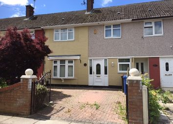 Thumbnail 3 bed terraced house to rent in Boundary Farm Road, Halewood