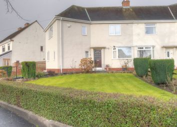 Thumbnail 3 bedroom semi-detached house for sale in Hallow Drive, Throckley, Newcastle Upon Tyne