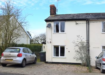 Thumbnail 2 bed end terrace house for sale in Great Finborough, Stowmarket