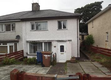 Thumbnail 3 bed semi-detached house for sale in Cae Mur, Caernarfon, Gwynedd