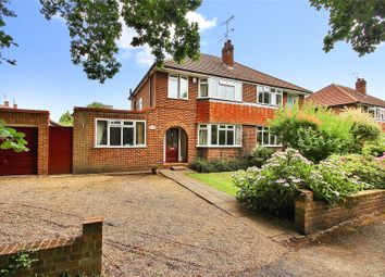 Thumbnail 3 bed semi-detached house for sale in Chobham, Surrey