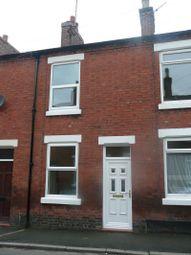 Thumbnail 2 bedroom terraced house to rent in Livingstone Street, Leek, Staffordshire