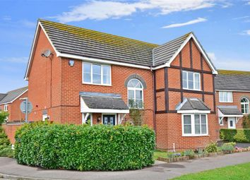 Thumbnail 4 bed detached house for sale in Heron Forstal Avenue, Hawkinge, Folkestone, Kent