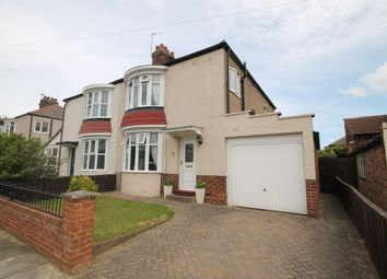 Thumbnail 3 bed semi-detached house for sale in Kingsley Road, Stockton-On-Tees