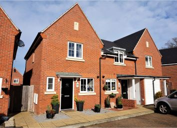 Thumbnail 2 bed end terrace house for sale in Hatts Close, Hartley Witney