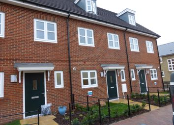 Thumbnail 3 bed town house to rent in Grieve Road, Aylesbury
