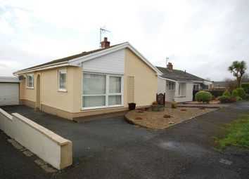 Thumbnail 3 bed detached bungalow to rent in Upper Hill Park, Tenby