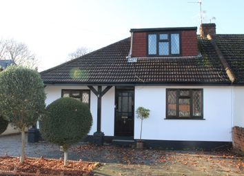 3 bed semi-detached bungalow for sale in Vicarage Road, Hornchurch, Essex RM12
