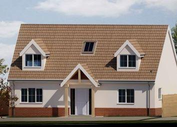 Thumbnail 3 bedroom bungalow for sale in Whatfield Road, Elmsett, Ipswich, Suffolk