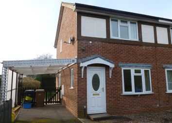 Thumbnail 2 bed semi-detached house to rent in Summerfield Close, Oswestry