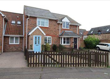 Thumbnail 2 bed terraced house for sale in Aldeburgh Gardens, Highwoods, Colchester