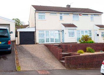 Thumbnail 3 bed semi-detached house for sale in Mountain Way, Nelson, Treharris