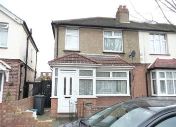 Thumbnail 3 bed semi-detached house for sale in Gladstone Avenue, Feltham, Greater London