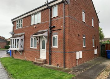 Thumbnail 1 bed semi-detached house to rent in Oaklands, Cranswick, Driffield