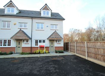Thumbnail 4 bed town house for sale in Heathermount, Broadheath, Altrincham