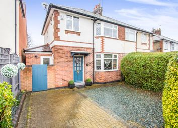 Thumbnail 3 bed semi-detached house for sale in Woodland Avenue, Narborough, Leicester