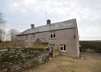 Thumbnail 3 bed semi-detached house to rent in Kilkhampton, Bude, Cornwall