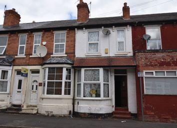 Thumbnail 2 bed terraced house for sale in Brushfield Street, Nottingham