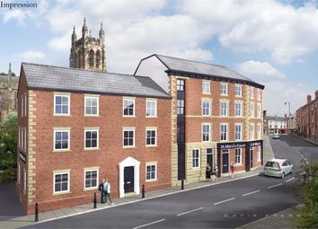 Thumbnail 1 bedroom flat for sale in Apartment 21, 6-10 St Marys Court, Millgate, Stockport, Cheshire