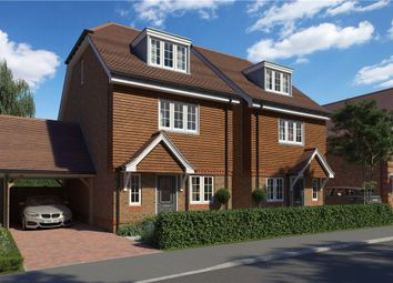 Thumbnail 3 bed detached house for sale in Princess Marina Drive, Arborfield Green, Reading