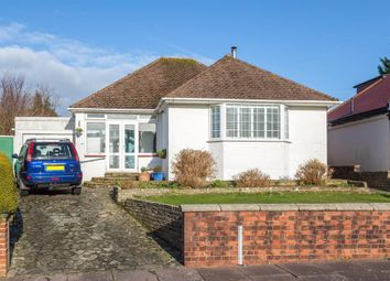 Thumbnail 2 bedroom detached bungalow for sale in Hazelhurst Crescent, Findon Valley, Worthing, West Sussex