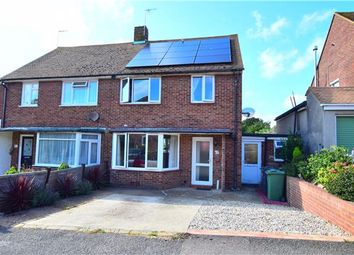 Thumbnail 3 bedroom semi-detached house for sale in Edmonton Road, Bexhill-On-Sea, East Sussex