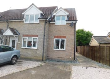 Thumbnail 4 bed semi-detached house for sale in Cornmill Green, Woolpit, Bury St. Edmunds