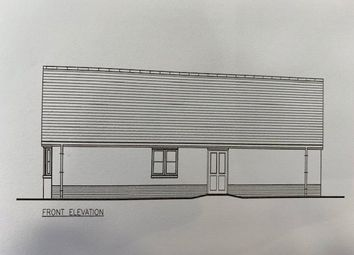 Thumbnail 3 bed detached bungalow for sale in Plot 1 The Dale, Land South Of Kilvelgy Park, Kilgetty, Pembrokeshire