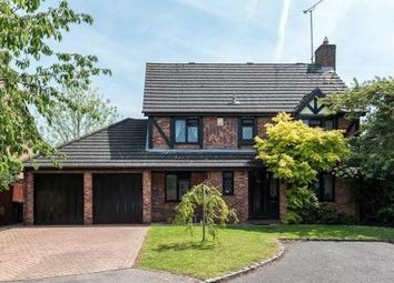 Thumbnail 4 bed detached house for sale in College Town, Sandhurst