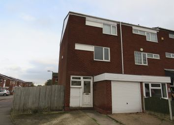Thumbnail 3 bedroom end terrace house for sale in Vauxhall Crescent, Birmingham