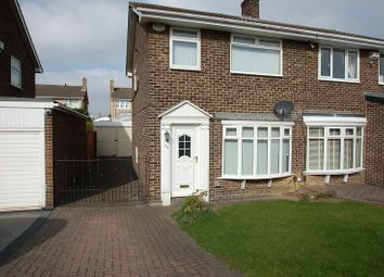 Thumbnail 3 bed semi-detached house for sale in Lulsgate, Thornaby, Stockton-On-Tees