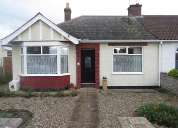 Thumbnail 3 bedroom semi-detached bungalow for sale in Kirkley Run, Lowestoft