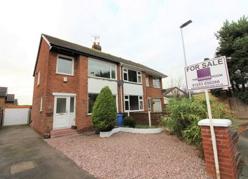 Thumbnail 3 bed semi-detached house for sale in Ridgeway Drive, Thornton