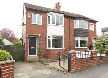 Thumbnail 3 bed semi-detached house for sale in Hawthorn Grove, Leeds, West Yorkshire