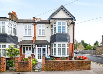 Thumbnail 4 bedroom end terrace house for sale in Strathyre Avenue, London