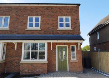 Thumbnail 3 bed semi-detached house to rent in 49 Ashby Road, Markfield, Leicester